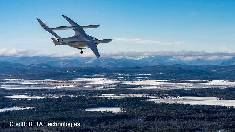 BETA Technologies aircraft.