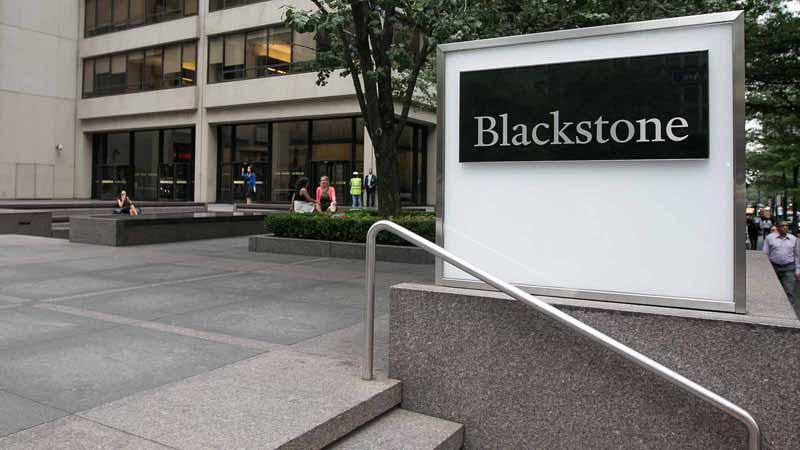 Blackstone offices in Manhattan.