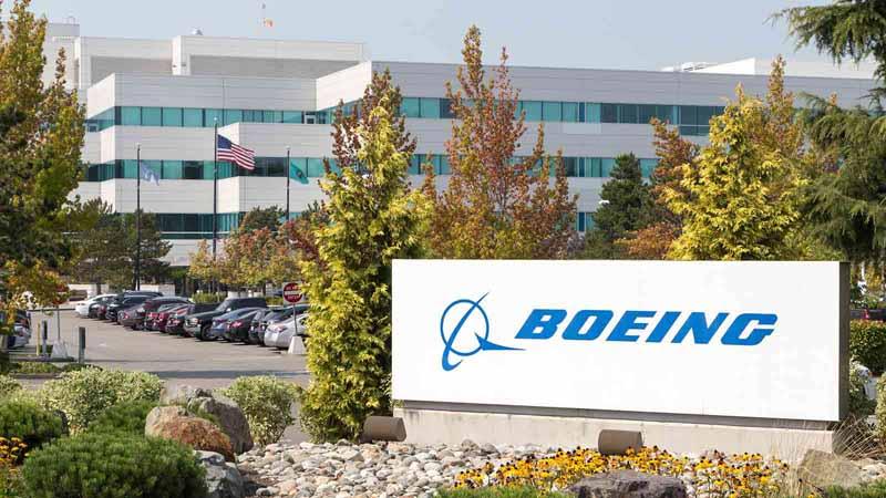Boeing facility in Washington.
