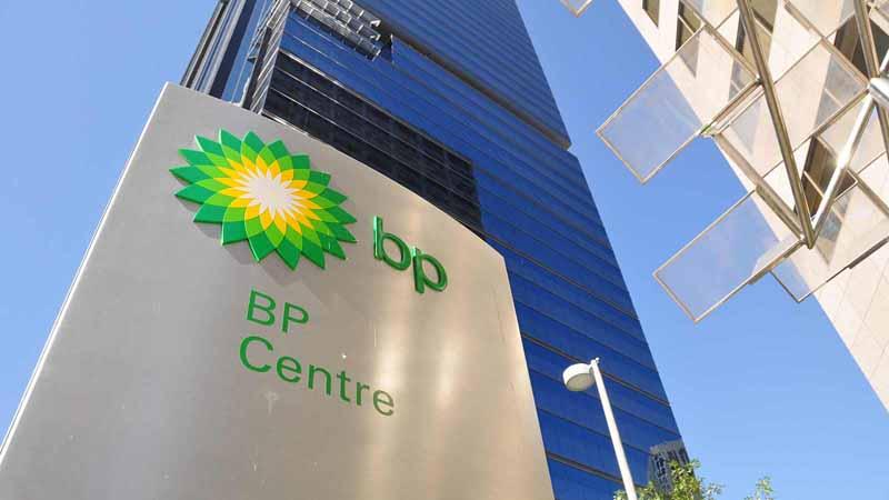 BP head office in Calgary, Canada.