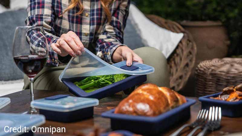 Omnipan storage containers from Chef Avenue.