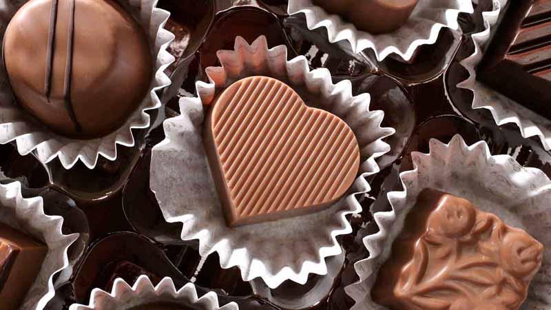 Valentine's Day chocolates.