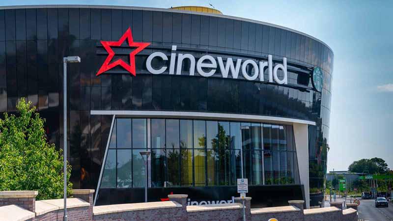 A Cineworld cinema in London, UK.