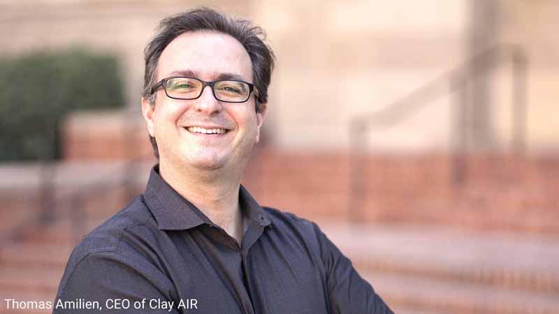 Thomas Amilien, CEO of Clay AIR.
