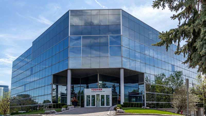 Toshiba Canada headquarters in Markham, Canada.