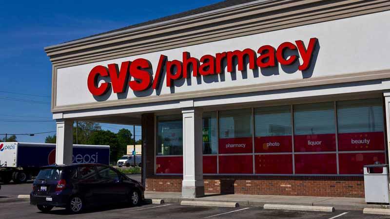 CVS Pharmacy storefront.