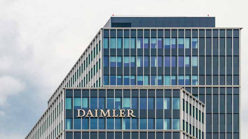 Daimler AG headquarters in Germany.