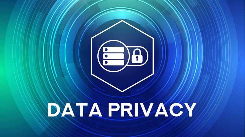 Data privacy concept.
