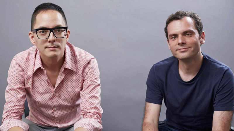 Datadog co-founders Alexis Lê-Quôc and Olivier Pomel.