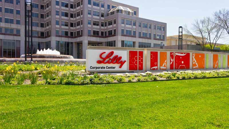 Eli Lilly and Company World Headquarters.