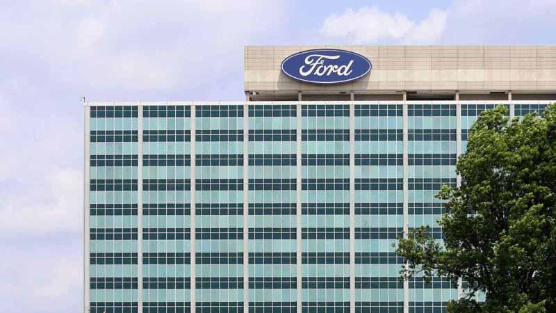 Ford Motor Company world headquarters.