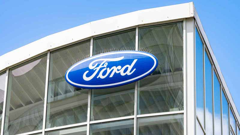 A Ford dealership.