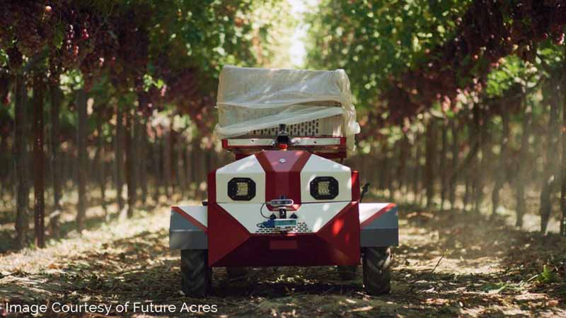 Carry, the AI agtech robot from Future Acres.