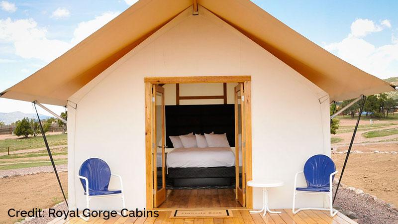Royal Gorge Cabins facilities.