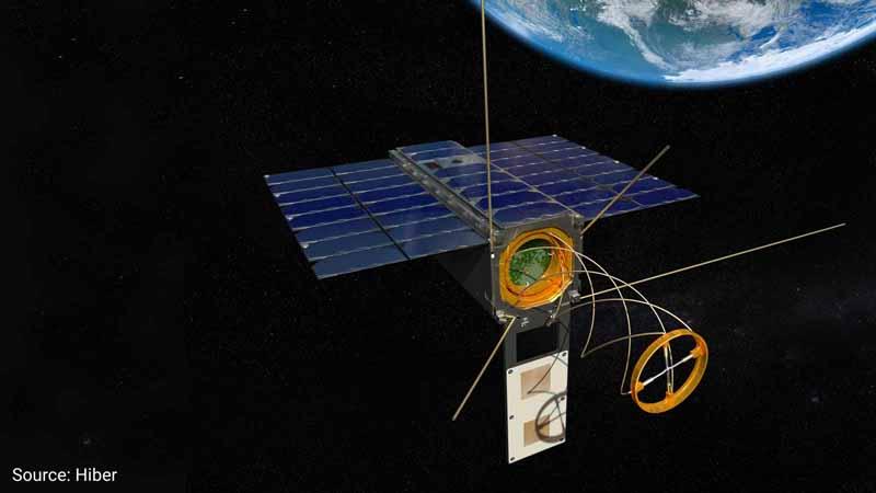 A Hiber BV satellite.