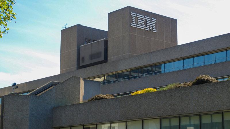 IBM building in London, UK.