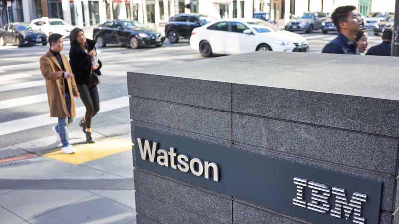 IBM Watson office in California.