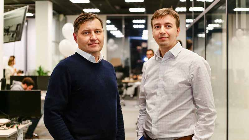 ID R&D Co-Founders Alexey Khitrov and Konstantin Simonchik.