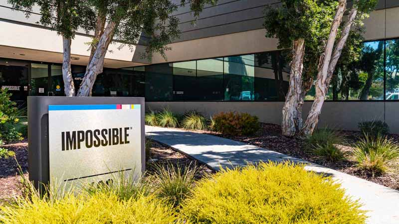 Impossible Foods headquarters in Silicon Valley.
