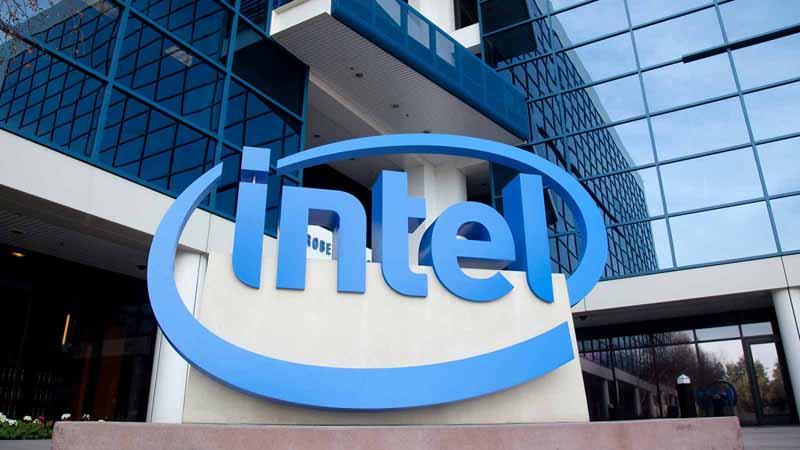 Intel headquarters in California.