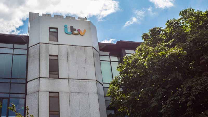 ITV building in London, UK.