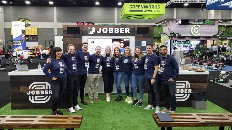Group shot of Jobbers team members