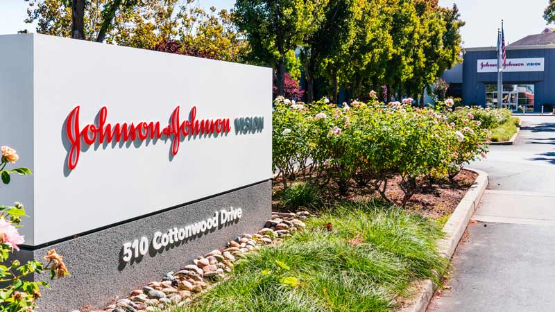 Johnson & Johnson offices in Silicon Valley.