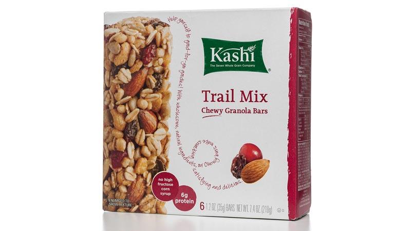 Kashi granola bar box.