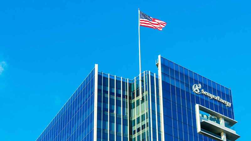 Sempra Energy corporate headquarters in San Diego, California.