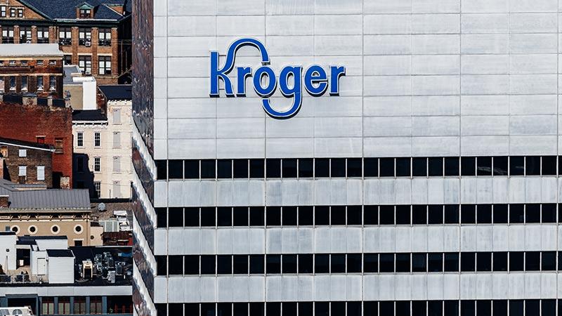 Kroger corporate headquarters in Cincinnati, Ohio.