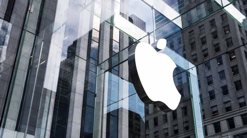 Apple store in New York, New York.