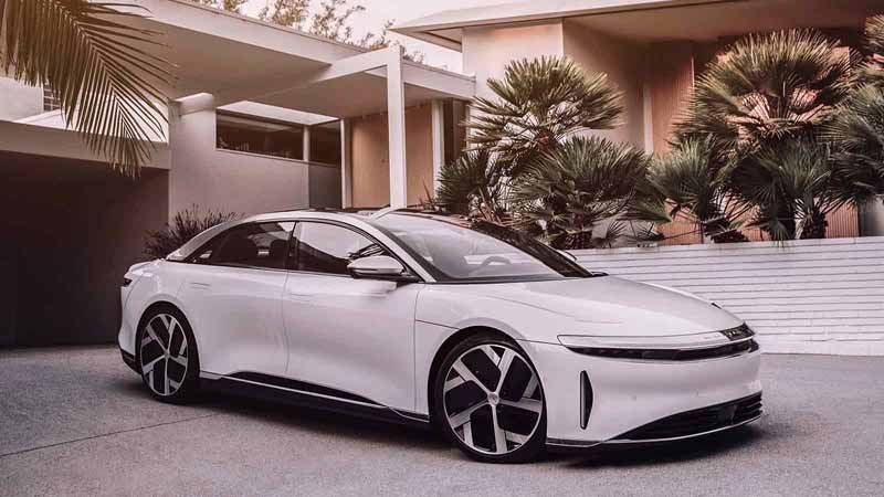 Lucid Motors vehicle model.