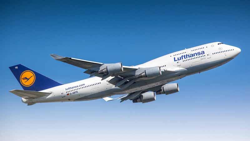 Lufthansa Boeing 747-400.