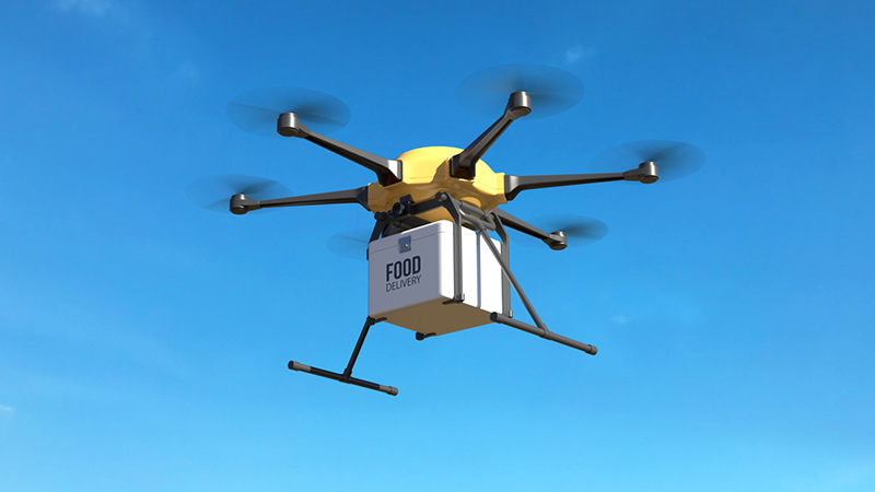 Food delivery drone.