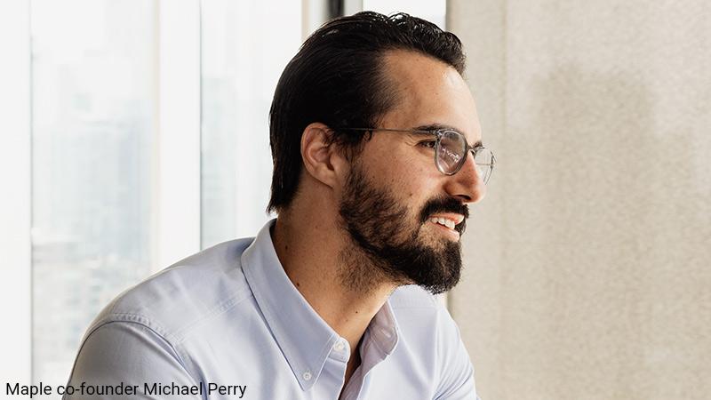 https://cdn.startupsavant.comMichael Perry, founder of Maple.