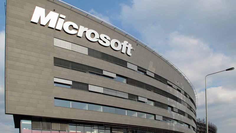 Microsoft headquarters in Prague.