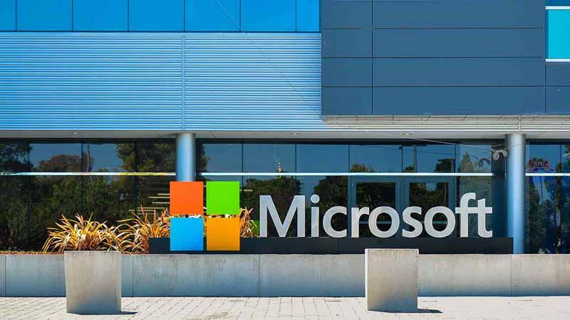 Microsoft's location in Silicon Valley.
