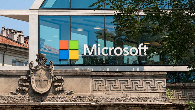 Microsoft Italian headquarters.