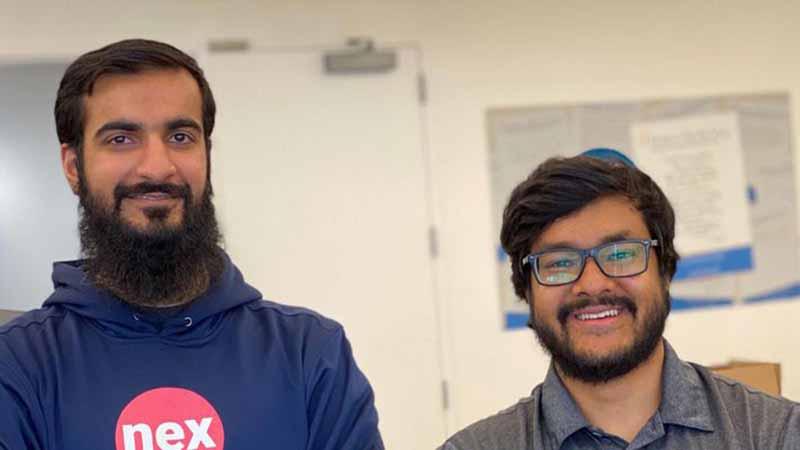 NexHealth founders Waleed Asif and Alamin Uddin.