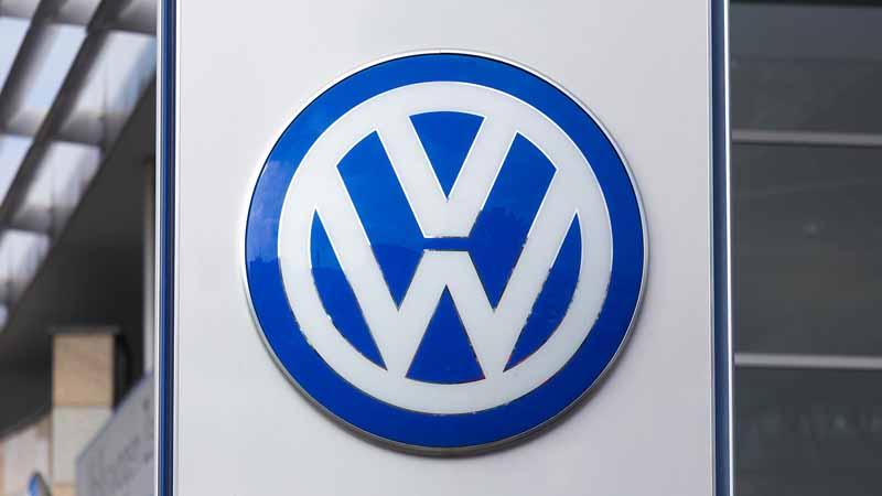 A Volkswagen sign.