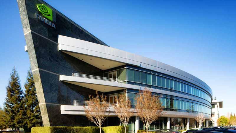 Nvidia headquarters in California.