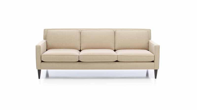 A white sofa.