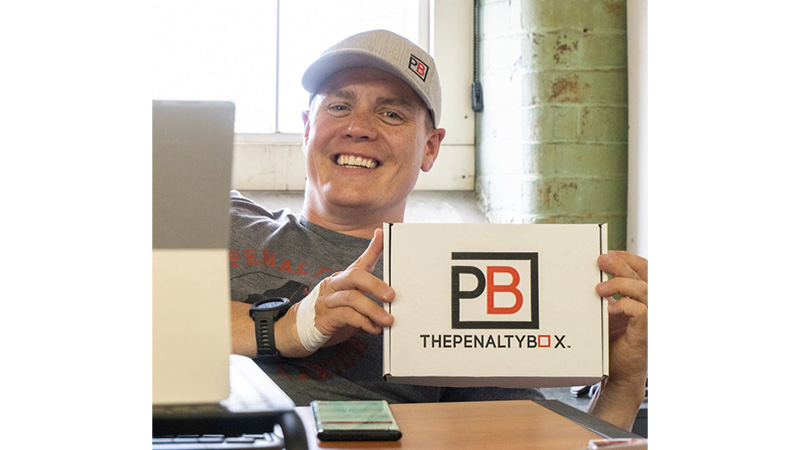 Drew Laine, founder and CEO of PenaltyBox.