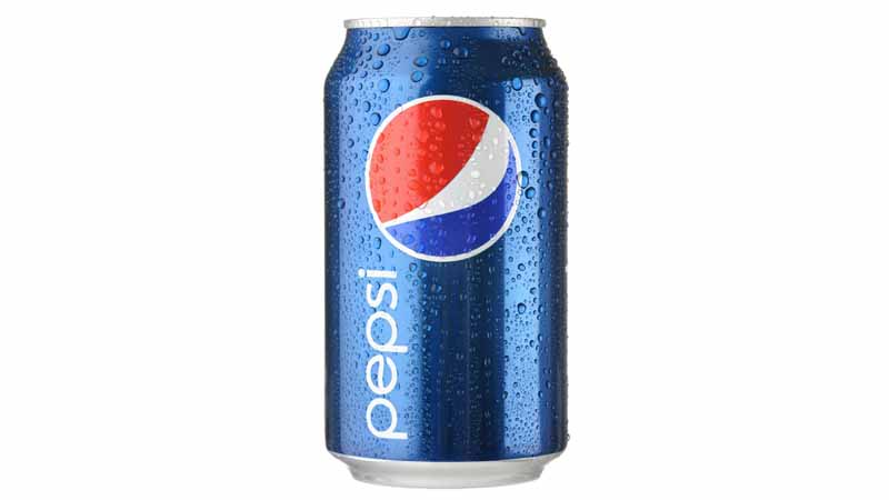 A Pepsi can.