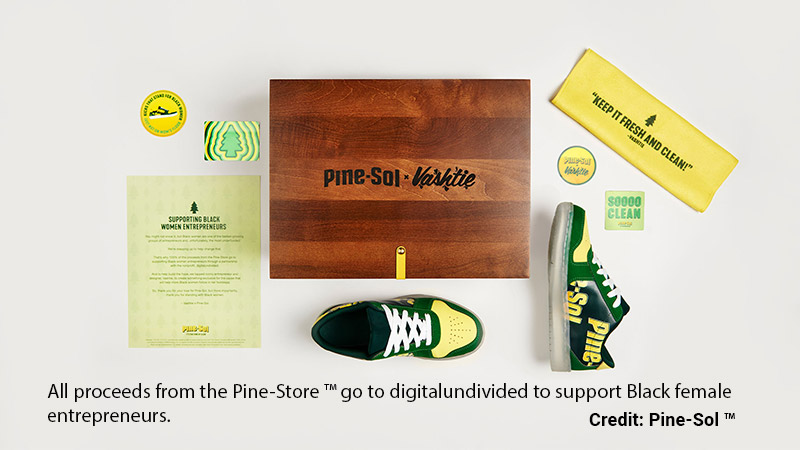 Pine-Sole sneakers from Pine-Sol.