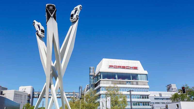 Porsche headquarters in Germany.