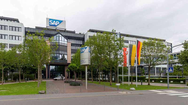 SAP global headquarters in Walldorf, Germany.