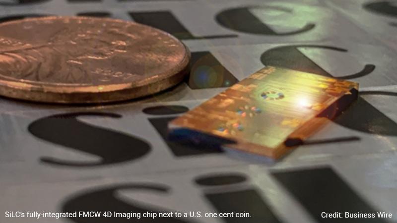 SiLC FMCW 4D Imaging chip.