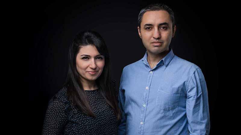 Softr founders: CEO Mariam Hakobyan and CTO Artur Mkrtchyan.