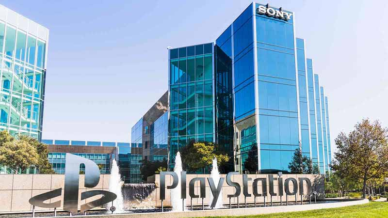 Sony Entertainment offices in Silicon Valley.